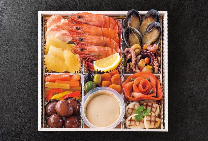鎌倉山洋風おせち料理 上段